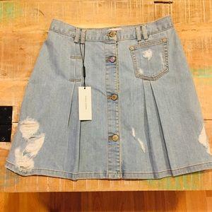 95f3346ae4 Public School Skirts - NWT Public School Penny Denim Skirt 10